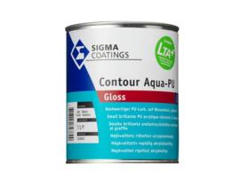 Sigma Contour Aqua PU Gloss - Wit - 1 liter