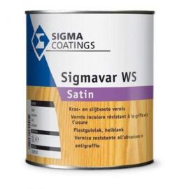 Sigmavar WS Satin - Kleurloos - 2,5 liter