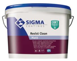 Sigma Resist Clean Matt - Wit - 2,5 liter