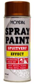 Mondial Spuitverf Effect - Zilver - 400 ml