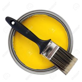 Acryl Zijdeglans - Zongeel - 1 liter