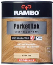 Rambo Parket Lak Alkyd Hoogglans - blank 701 - 0,75 liter