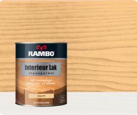 Rambo Interieur-/Vloer Lak Transparant Zijdeglans - Blank 701 - 0,75 liter