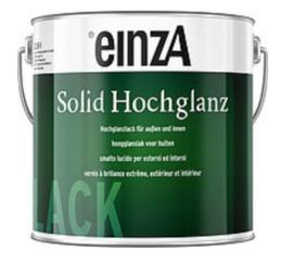 einzA Solid Gloss Hochglanz - alle kleuren - 3 Liter