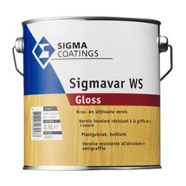 Sigmavar WS Gloss - Kleurloos - 2,5 liter