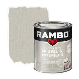 Rambo Pantserbeits Meubel & Interieur - Licht Grijs 0748 - 0,75 liter