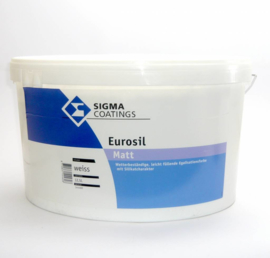 Sigma Eurosil Matt - Wit - 12,5 liter