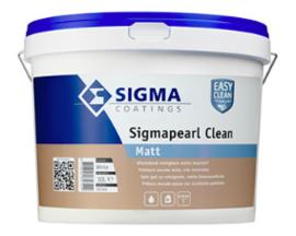 Sigma Sigmapearl Clean Matt - Wit - 5 liter