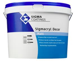 Sigma Sigmacryl Decor Matt - Wit - 5 liter