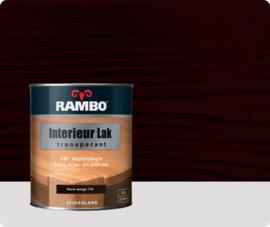 Rambo Interieur-/Vloer Lak Transparant Zijdeglans - Warm Wenge 776 - 0,75 liter