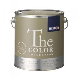 Histor The Color Collection Kalkmat - Original Green 7511 - 2,5 liter