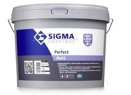 Sigma Perfect Matt - Wit - 10 liter
