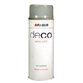 Dupli-Color Deco Spray Paint - Silver Grey ral 7001 - 400 ml