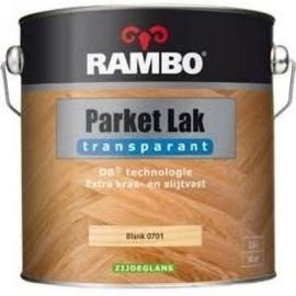 Rambo Parket Lak Acryl Zijdeglans - Blank 701 - 0,75 liter