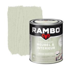 Rambo Pantserbeits Meubel & Interieur - Vintage Groen 0744 - 0,75 liter
