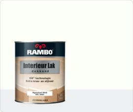 Rambo Interieur Lak Dekkend Zijdeglans - Signaalwit Ral 9003 - 0,75 liter