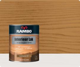 Rambo Interieur-/Vloer Lak Transparant Zijdeglans - Rustiek Grenen 767 - 0,75 liter