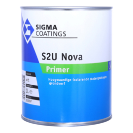 Sigma S2U Nova Primer - Wit - 2,5  liter