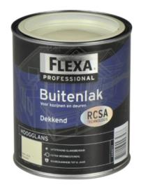 Flexa Professional Buitenlak Dekkend Hoogglans - Ral 5003 - 0,75 liter