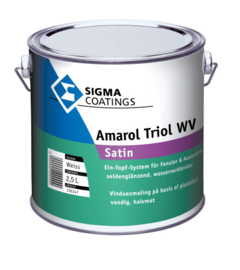 Sigma Amarol Triol WV Satin - Wit - 2,5 liter