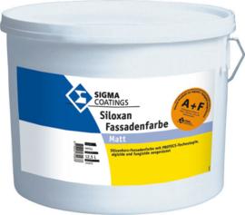 Sigma Siloxan Fassadenfarbe Matt - Wit - 5 liter