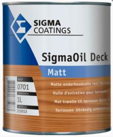 SigmaOil Deck Matt - Base 1701 - 1 liter