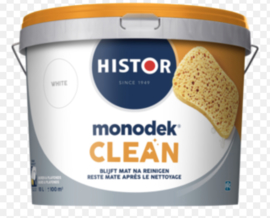 Histor monodek Clean Reinigbare Muurverf - Ral 9010 - 10 liter