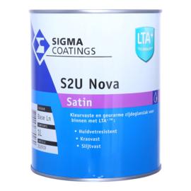 Sigma S2U Nova Satin - +/-  Ral 5001 groenblauw - 2.5 liter
