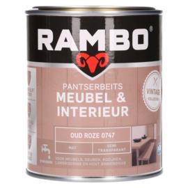 Rambo Pantserbeits Meubel & Interieur - Oud Roze 0747 - 0,75 liter
