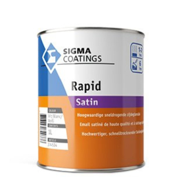 Sigma Rapid Satin - Wit - 1 liter