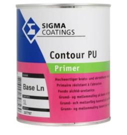 Sigma Contour PU Primer - Wit - 2,5 liter - vergelijkbaar met s2u primer