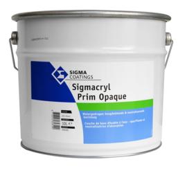 Sigmacryl Prim Opaque - Wit - 10 liter