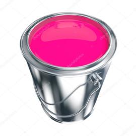 Acryl Hoogglans - Knal Roze - 1 liter