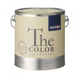 Histor The Color Collection Kalkmat - Harmony yellow - 2,5 liter