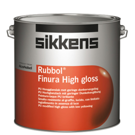Sikkens Rubbol Finura High Gloss - Wit - 1 liter