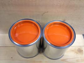 Acryl Hoogglans - Knal Oranje - 1 liter