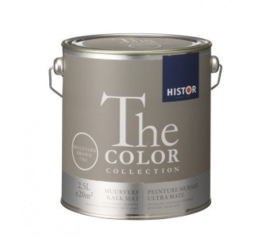 Histor The Color Collection Kalkmat - Boulevard Brown 7501 - 2,5 liter