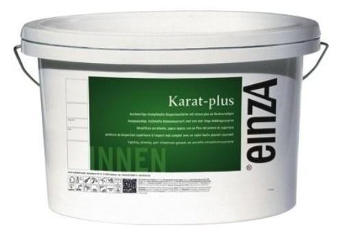 einzA Karat Plus Schrobvaste Muurverf Krijtmat - wit - 10 x 10 Liter