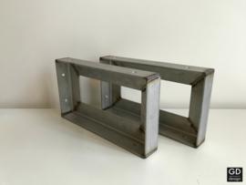 Set maatwerk wandsteunen HOOK brut, 44x15cm