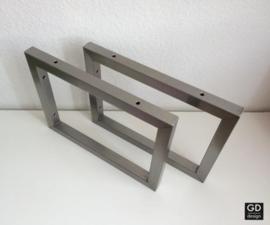 Set maatwerk wandsteunen PATO 3x3 cm geslepen, 30x25cm