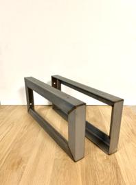 Plankdragers industrieel staal HOOK 44x20cm
