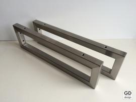Set maatwerk wandsteunen PATO koker 3x3cm