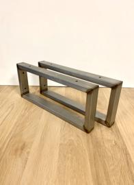 Plankdragers industrieel & stoer RAW 40x20cm maatwerk