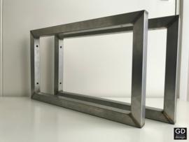Industriele plankdragers RAW 3x3cm brut rvs 50x30cm direct leverbaar