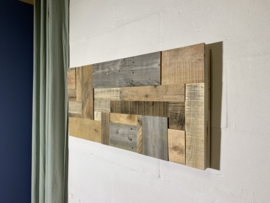 Wandpaneel Reclaimed Wood  94x45cm