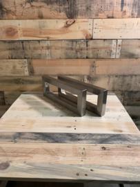 Plankdragers rvs Pato koker 4x4cm 44x17cm