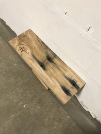 Eiken bielzenplank 70x23cm nr 1