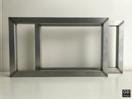 Set maatwerk  wandsteunen RAW 3x3cm brut, 50x30cm
