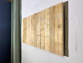 Handgemaakt Wandpaneel Gebuikt Hout 87x45cm