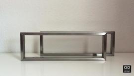 Set maatwerk wandsteunen PATO koker 3x1,5cm
